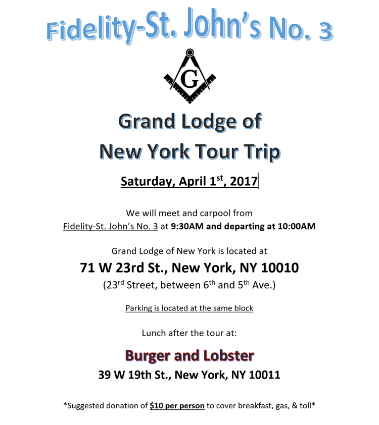 GL of NY Tour